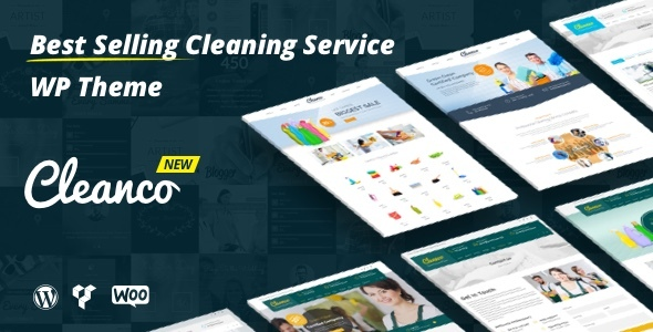 Cleanco v2.0.5 — Cleaning Company WordPress Theme