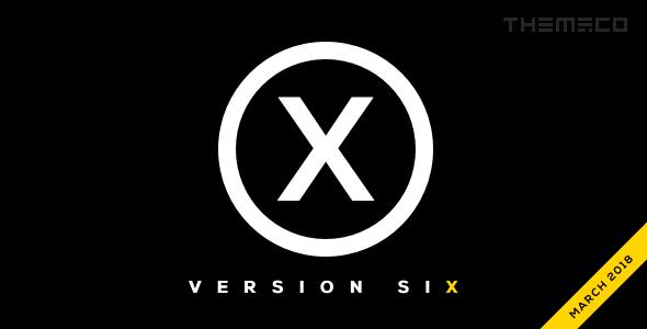 X v6.1.5 — Themeforest Premium WordPress Theme
