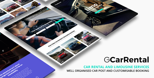 Grand Car Rental v2.1 — Limousine Car Rental WordPress