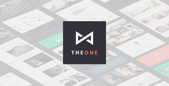 THEONE v1.4.9 — Parallax Onepage WordPress Theme