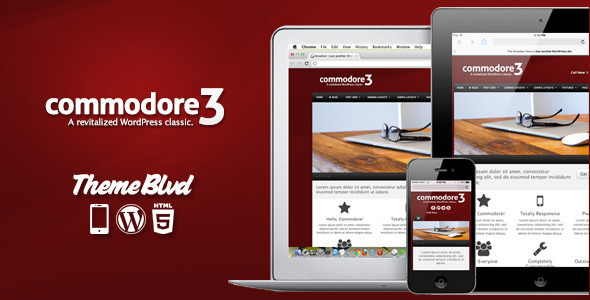 Commodore v3.0.15 — Responsive WordPress Theme