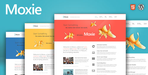 Moxie v1.3.13 — Themeforest Responsive Theme for WordPress
