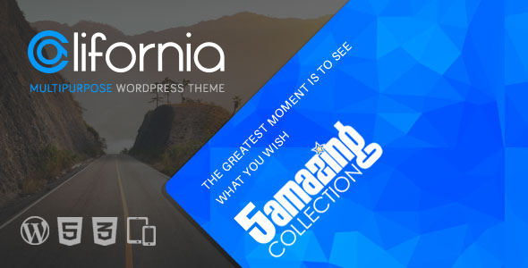 California v1.9.5 — Multipurpose WordPress Theme