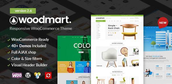 WoodMart v2.6.0 — Responsive WooCommerce WordPress Theme