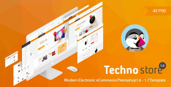 Technostore v1.0 — Responsive Prestashop 1.6 & 1.7 Theme