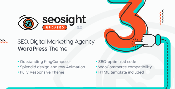 Seosight v3.0 — SEO Digital Marketing Agency Theme with Shop