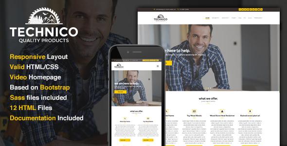 Technico — Business Site Template