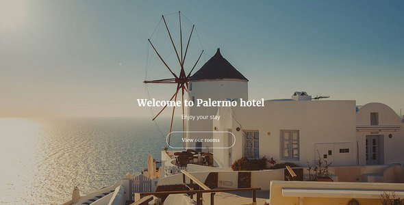 Palermo — Responsive Hotel Template