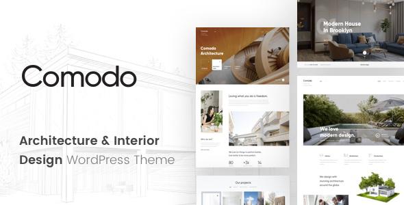 Comodo v1.0.1 — Architecture And Interior Design Theme