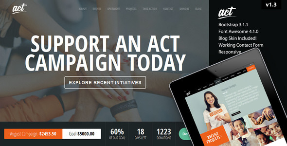 Act v2.8.1 — Multipurpose Nonprofit Theme