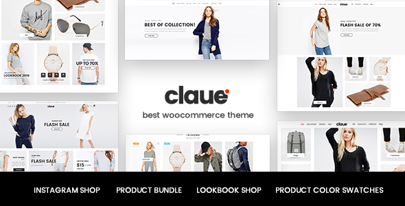 Claue v1.4.0 — Clean, Minimal WooCommerce Theme