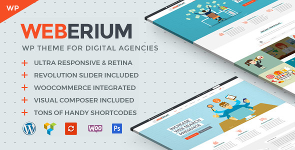 Weberium v1.0 — Theme Tailored for Digital Agencies