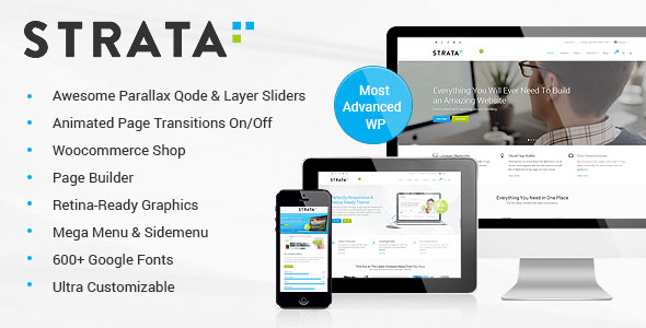 Strata v2.7 — Professional Multi-Purpose Theme