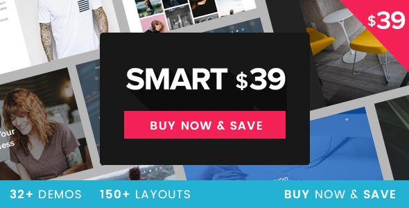 Smart v1.1 — Responsive Multi-Purpose WordPress Theme