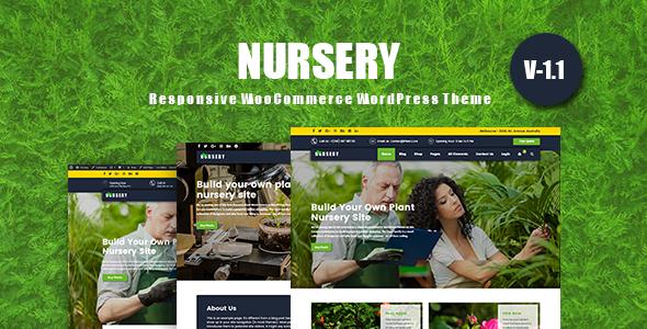NurseryPlant v1.1.0 — Responsive WooCommerce Theme
