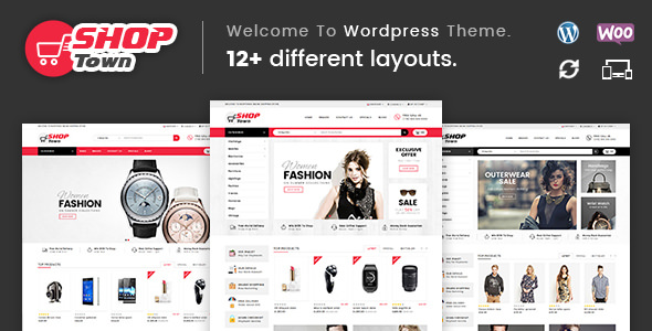 Shop Town v1.0 — Multipurpose WooCommerce Theme