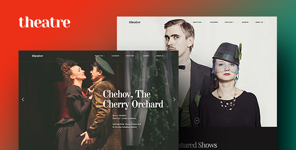 Theatre WP v1.1.3 — Art, Culture & Entertainment Theme