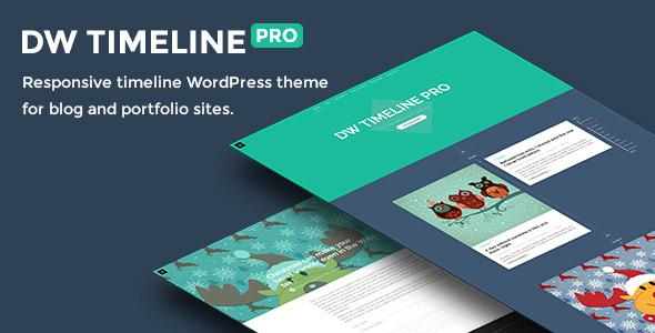 DW Timeline Pro v1.1.1 — Reponsive Timeline Theme