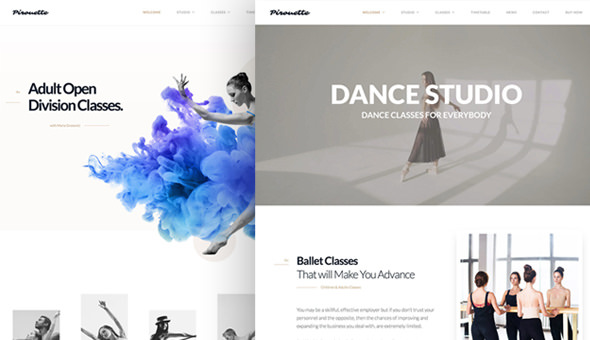 Dancing Academy v1.1.3.1 — Dance WordPress Theme