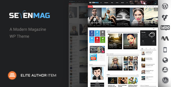 Sevenmag Magazine v2.4 — WP Magazine