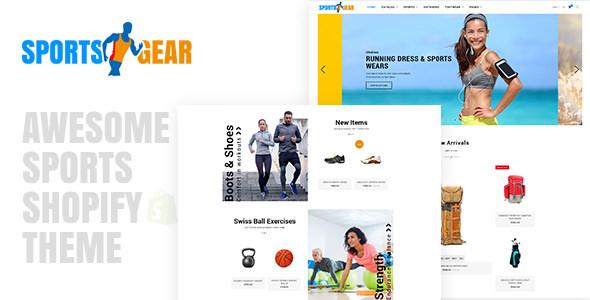 Sports Gear — Sports Shop Shopify Theme