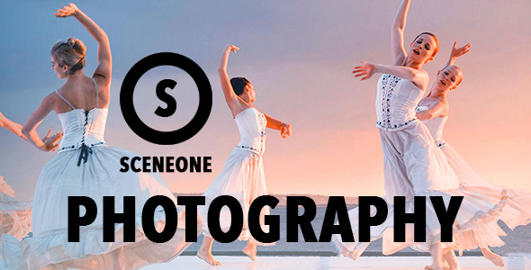 SceneOne v1.8 — Photography Theme for WordPress