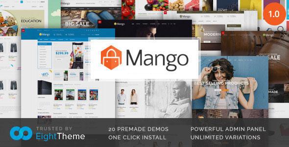 Mango v2.1.0 — Responsive Woocommerce Theme