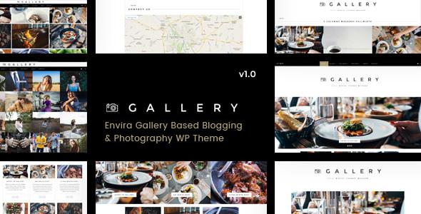 Gallery v1.0.3 — Blogging & Envira Gallery WordPress Theme