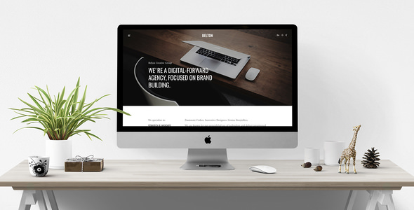 Belton v1.0.0 — Minimal Multipurpose WordPress Theme