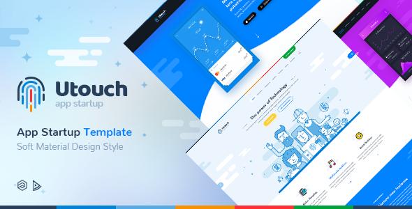 Utouch Startup v1.0.1 — Multi-Purpose Business Technology Joomla Template