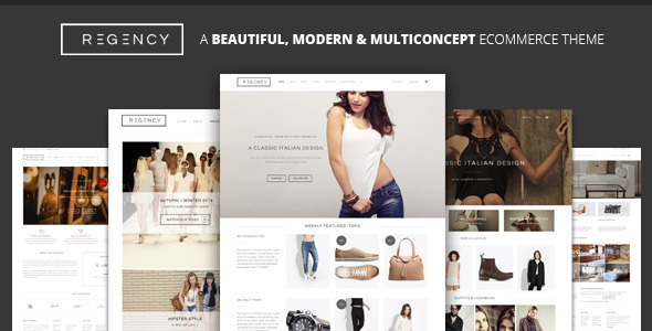 Regency v1.6.0 — A Beautiful & Modern Ecommerce Theme