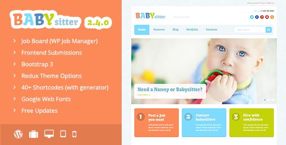 Babysitter v2.4.0 — Job Board WordPress Theme