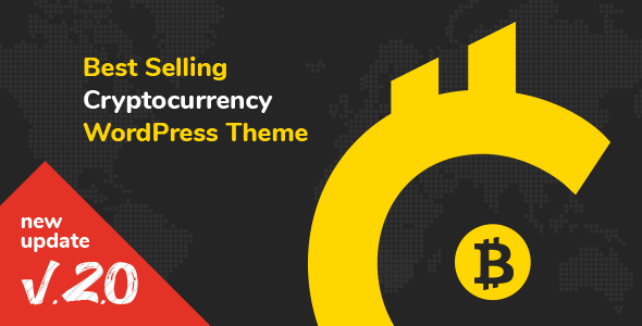 Cryptic v2.4 — Cryptocurrency WordPress Theme