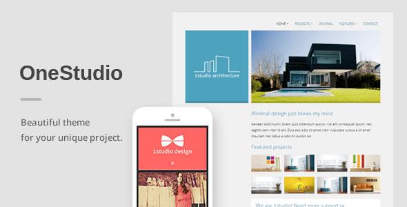 OneStudio v3.1.0 — A Unique Responsive WordPress Theme