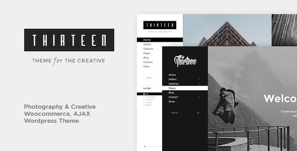 Thirteen v1.2.7 — Photography & Creative WordPress Theme