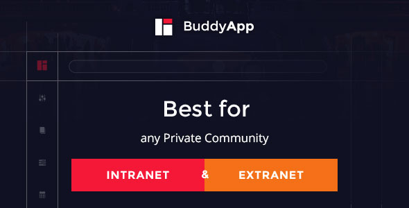 BuddyApp v1.5.7 — Mobile First Community WordPress theme