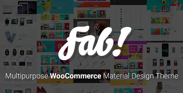FAB! v1.10.2 — Material Design WooCommerce WordPress Theme