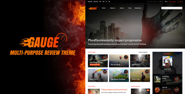 Gauge v6.37.1 — Multi-Purpose Review Theme