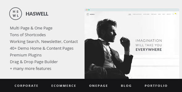 Haswell v2.0.6 — Multipurpose One & Multi Page WP Theme