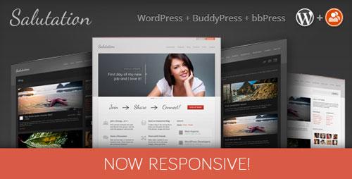 Salutation v3.0.17 — Themeforest Responsive WP + BuddyPress