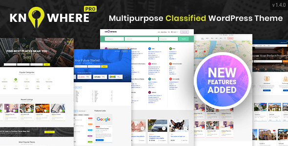 Knowhere Pro v1.4.0 — Multipurpose Directory Theme