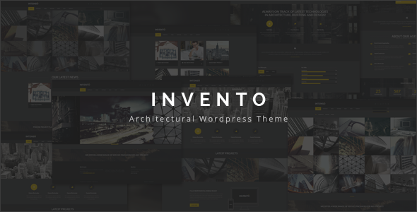 Invento v2.4 — Architecture Building Agency Theme