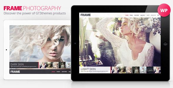 Frame v2.6.1 — Photography Minimalistic WP Theme
