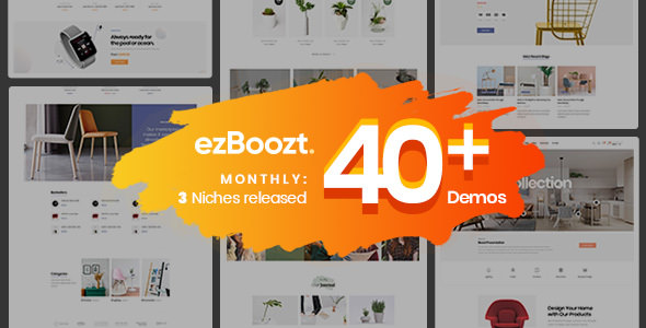 ezBoozt v1.2.0 – All-in-one WooCommerce WordPress Theme