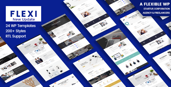 Flexi v2.9 — Flexible WordPress Theme