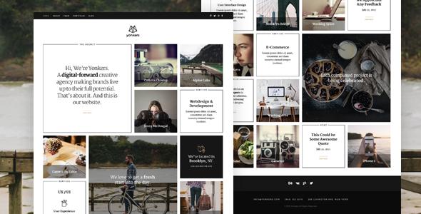 Yonkers — Creative Agency Drupal 8 Theme