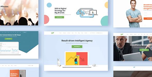 Marketing Pro v2.3 — SEO WordPress Theme for SEO, Agency