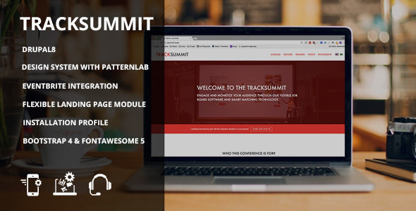 Tracksummit — Drupal 8 Conference & Events