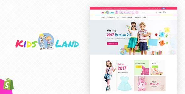 Kids Store — Kids Clothing, Fashion Shopify Theme
