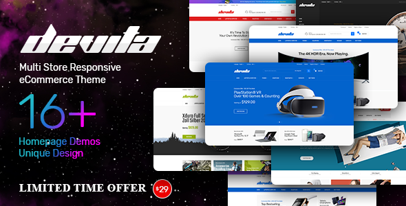 Devita v1.0 — Multipurpose Theme for WooCommerce